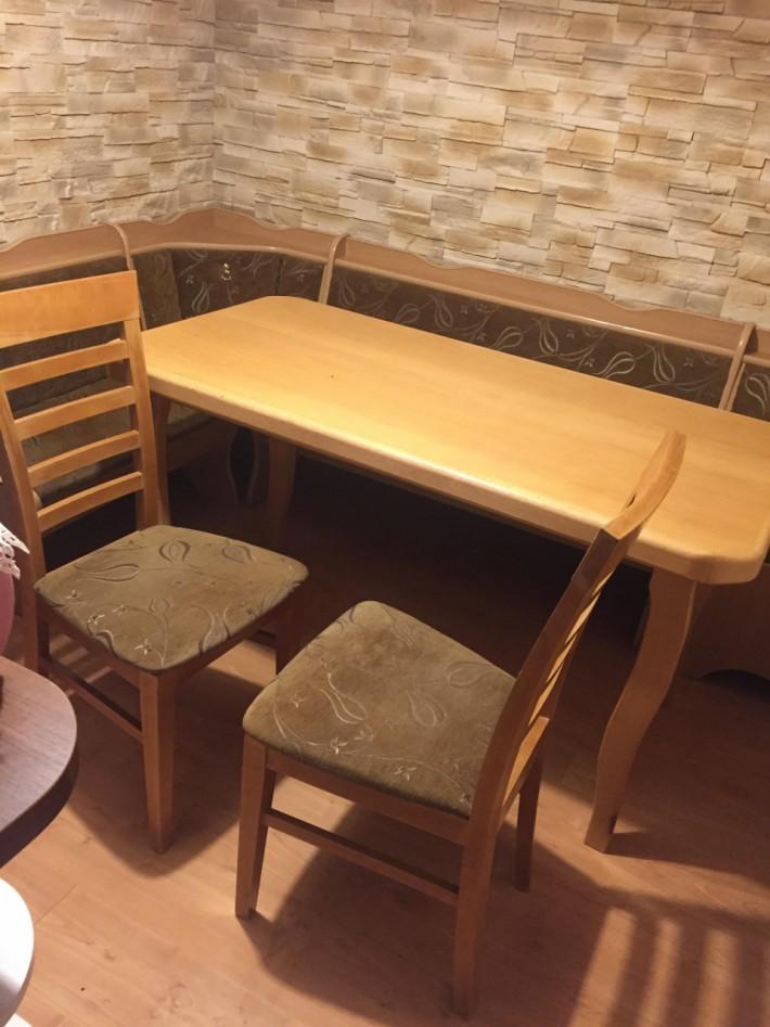 Sprzedam Stół Kuchenny Narożnik I Krzesła Zestaw