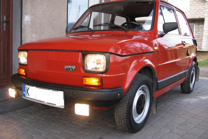 1990 polski fiat 126p 650e przebieg 30tys km jak z fabryki 1990 polski fiat 126p 650e przebieg